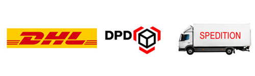 Versand-DHL-DPD-Spedition